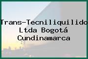 Trans-Tecniliquilidos Ltda Bogotá Cundinamarca
