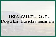 TRANSVICAL S.A. Bogotá Cundinamarca