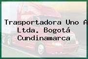 Trasportadora Uno A Ltda. Bogotá Cundinamarca