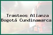 Trasteos Alianza Bogotá Cundinamarca