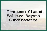 Trasteos Ciudad Salitre Bogotá Cundinamarca