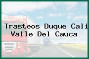 Trasteos Duque Cali Valle Del Cauca