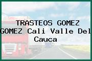 TRASTEOS GOMEZ GOMEZ Cali Valle Del Cauca