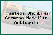 Trasteos JhonEdwin Carmona Medellín Antioquia