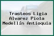 Trasteos Ligia Alvarez Piola Medellín Antioquia