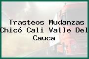 Trasteos Mudanzas Chicó Cali Valle Del Cauca