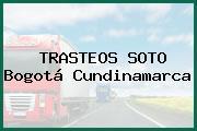 TRASTEOS SOTO Bogotá Cundinamarca