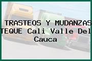 TRASTEOS Y MUDANZAS TEQUE Cali Valle Del Cauca