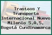 Trasteos Y Transporte Internacional Nuevo Milenio S.A.S. Bogotá Cundinamarca