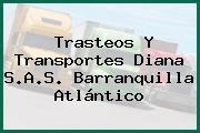 Trasteos Y Transportes Diana S.A.S. Barranquilla Atlántico