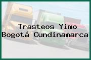Trasteos Yimo Bogotá Cundinamarca
