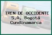 TREN DE OCCIDENTE S.A. Bogotá Cundinamarca