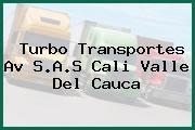 Turbo Transportes Av S.A.S Cali Valle Del Cauca