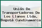 Unión De Transportadores De Los Llanos Ltda. Bogotá Cundinamarca