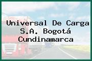 Universal De Carga S.A. Bogotá Cundinamarca
