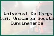 Universal De Carga S.A. Unicarga Bogotá Cundinamarca