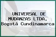 Universal De Mudanzas Ltda. Bogotá Cundinamarca