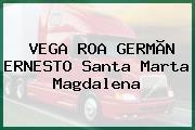 VEGA ROA GERMÃN ERNESTO Santa Marta Magdalena