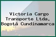 Victoria Cargo Transporte Ltda. Bogotá Cundinamarca