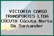 VICTORIA CARGO TRANSPORTES LTDA CÚCUTA Cúcuta Norte De Santander