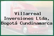 Villarreal Inversiones Ltda. Bogotá Cundinamarca