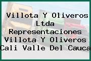 Villota Y Oliveros Ltda Representaciones Villota Y Oliveros Cali Valle Del Cauca