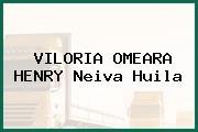 VILORIA OMEARA HENRY Neiva Huila
