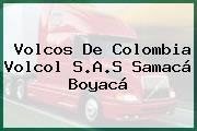 Volcos De Colombia Volcol S.A.S Samacá Boyacá