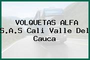VOLQUETAS ALFA S.A.S Cali Valle Del Cauca
