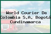 World Courier De Colombia S.A. Bogotá Cundinamarca
