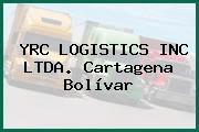 YRC LOGISTICS INC LTDA. Cartagena Bolívar
