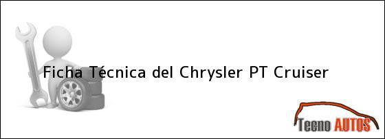 Ficha Técnica del Chrysler PT Cruiser