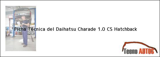 ... Daihatsu Charade 1.0 CS Hatchback, ensamblado en 1979 | tecnoautos.com