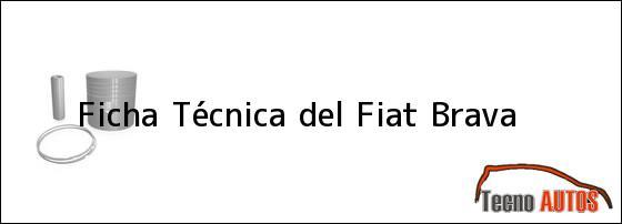 Ficha Técnica del Fiat Brava