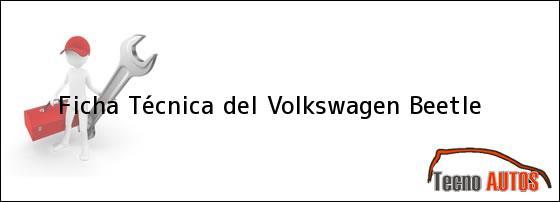 Ficha técnica vw sedan 2003