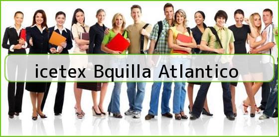<b>icetex Bquilla Atlantico</b>