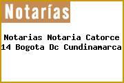 Notarias Notaria Catorce 14 Bogota Dc Cundinamarca