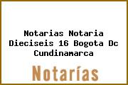 Notarias Notaria Dieciseis 16 Bogota Dc Cundinamarca