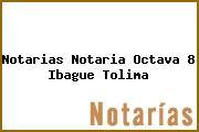 Notarias Notaria Octava 8 Ibague Tolima