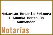 Notarias Notaria Primera 1 Cucuta Norte De Santander