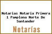 Notarias Notaria Primera 1 Pamplona Norte De Santander