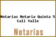 Notarias Notaria Quinta 5 Cali Valle