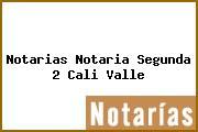 Notarias Notaria Segunda 2 Cali Valle