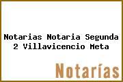 Notarias Notaria Segunda 2 Villavicencio Meta