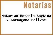 Notarias Notaria Septima 7 Cartagena Bolivar