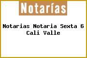 Notarias Notaria Sexta 6 Cali Valle