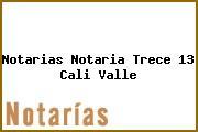 Notarias Notaria Trece 13 Cali Valle
