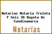 Notarias Notaria Treinta Y Seis 36 Bogota Dc Cundinamarca