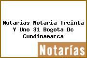 Notarias Notaria Treinta Y Uno 31 Bogota Dc Cundinamarca
