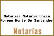 Notarias Notaria Unica Abrego Norte De Santander